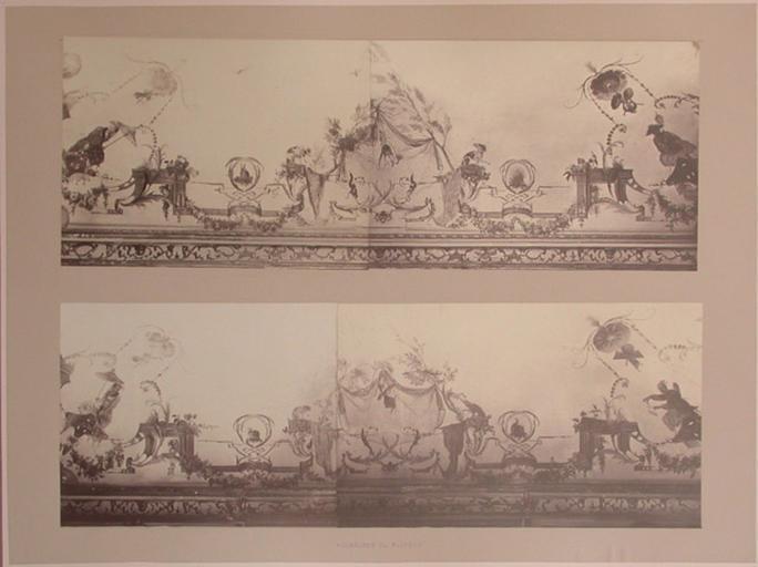 Fragments du salon Chinois (voussures du plafond)_0