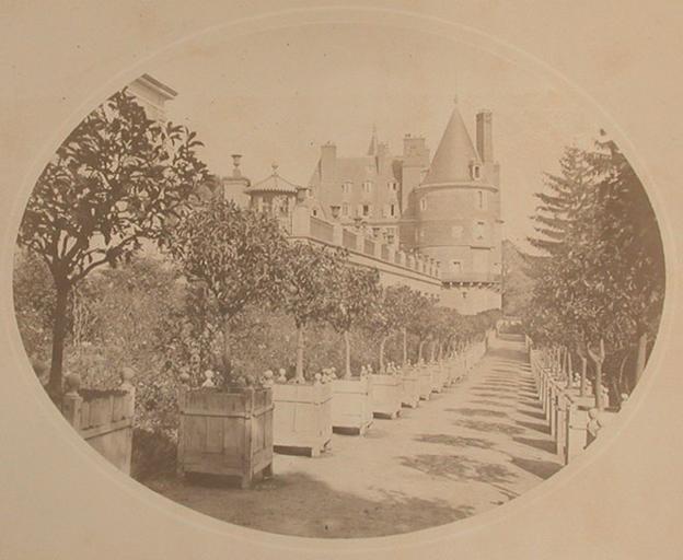 Randan. Château Allée des Orangers_0