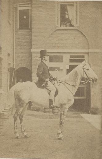 Le prince de Condé à cheval_0