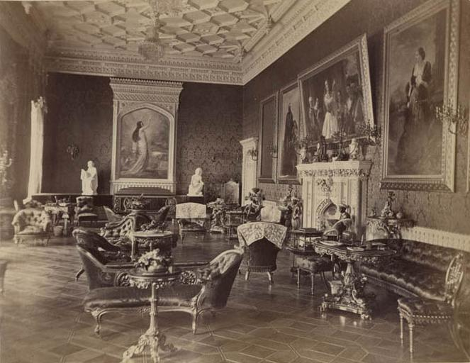 Strawberry Hill. Drawing Room
