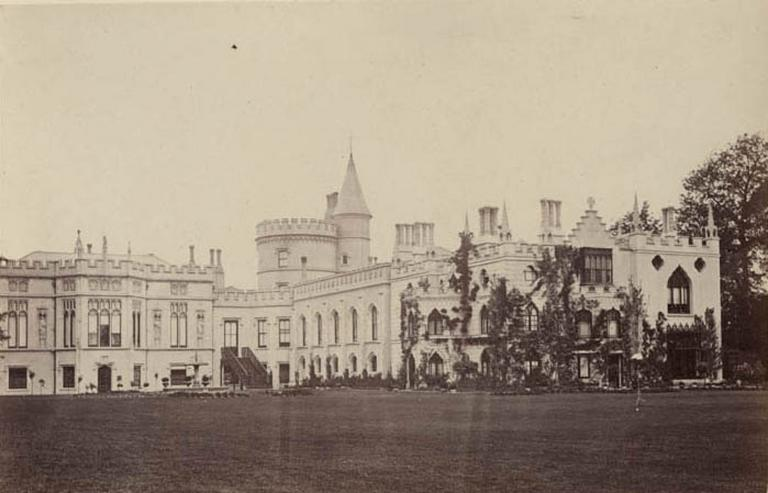 Strawberry Hill. From the Lawn_0