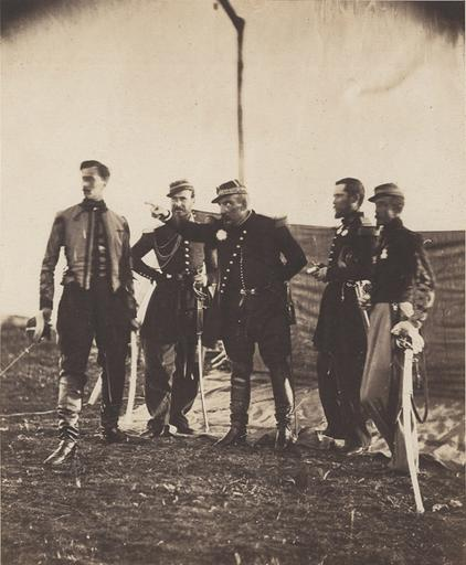 Général Bosquet and Staff, . 19 novembre 1855_0