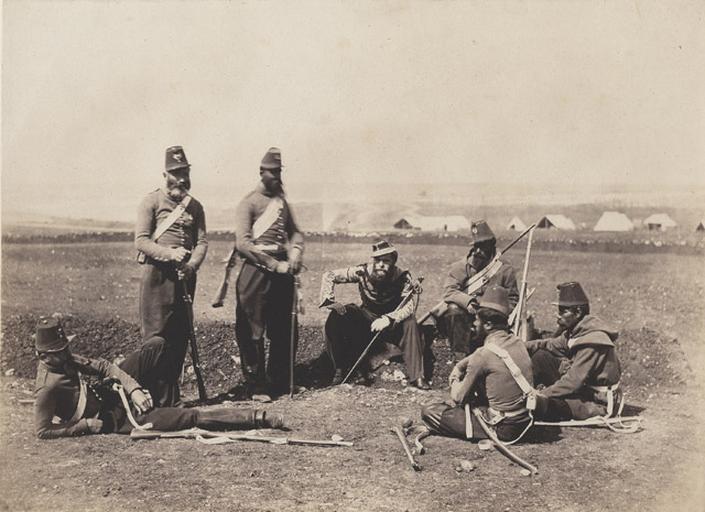 Chasseurs d'Afrique. 19 novembre 1855