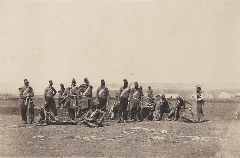 Chasseur d'Afrique. 19 novembre 1855_0