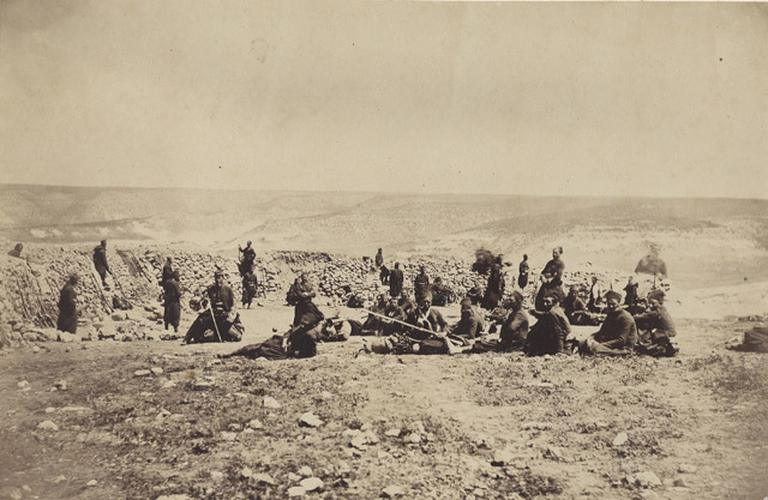 The French Redoubt at Inkermann, Jan.y Ist 1856_0