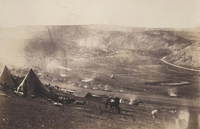 Lines of Balaklava. Siroco blowing (titre inscrit), Jan.y Ist 1856
