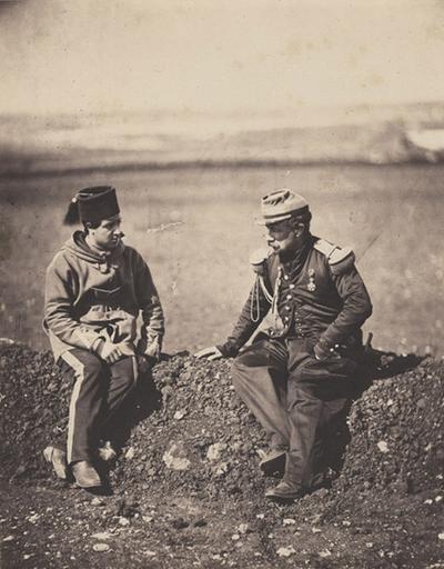 Gal Cissé & Staff Officier, Jan.y Ist 1856_0