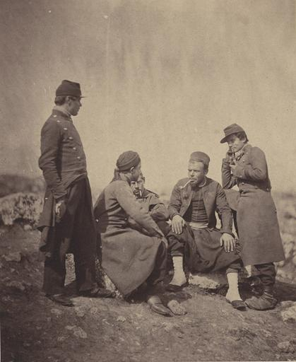 Zouaves & Soldiers of the Line, Jan.y Ist 1856_0