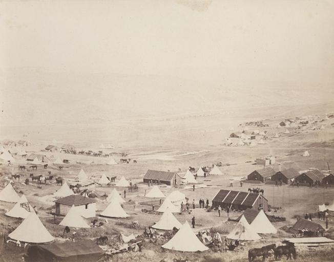 Cavalry Camp, looking towards Kadikoi, March.y 25 th 1856
