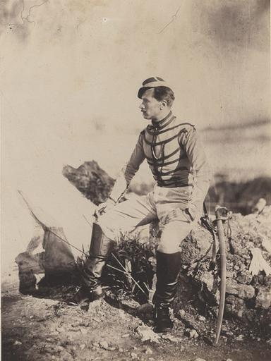 Captain Thomas (au crayon sur le montage), March. 25 th 1856_0