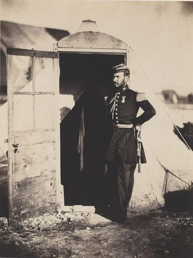Captain Fay on Gen. Bosquet's Staff. (titre inscrit), March. 25 th 1856