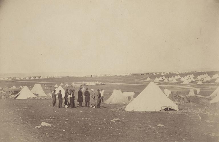 Gal Bosquet's Quarters looking towards Mackenzie Farm, March. 25 th 1856_0