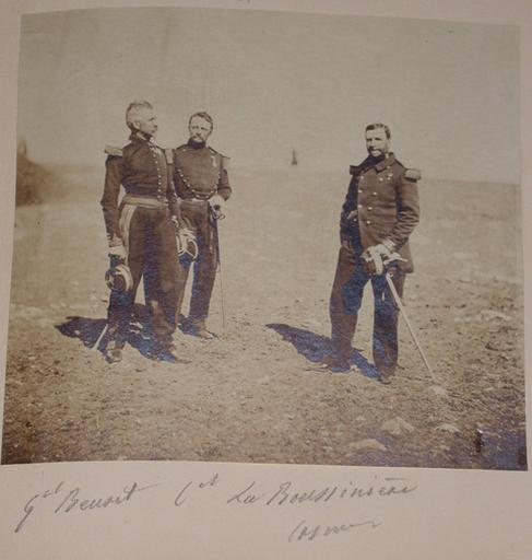 Général Beuret, colonel La Bousinière (Crimée).1855_0