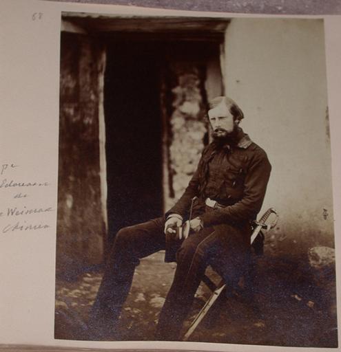 Prince Edouard de Saxe-Weimar (Crimée). 1855_0