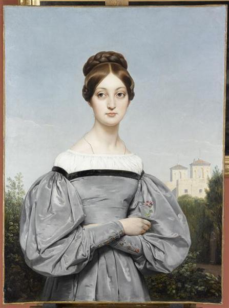 Portrait de Louise Vernet, fille de l'artiste_0