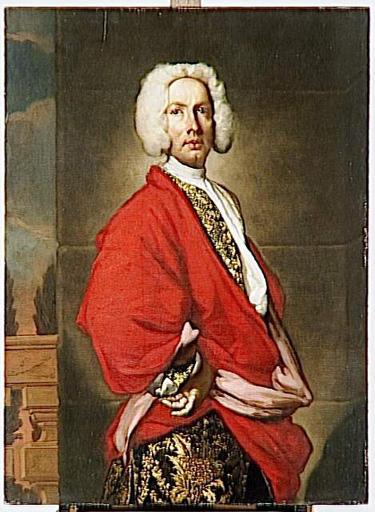 PORTRAIT D'HOMME ; anciennement portrait du comte Galeatius Secco Suardo_0