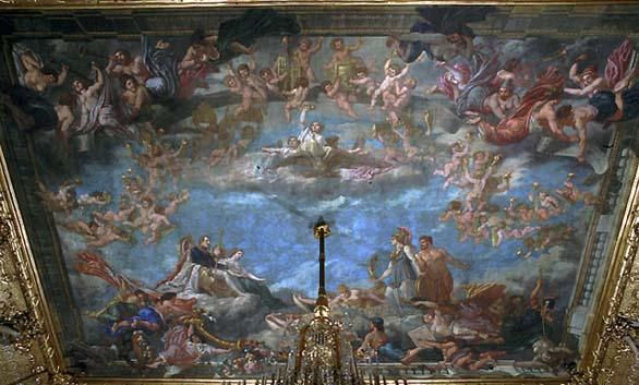La sagesse et la force présentent au couple impérial les grands desseins qui feront la gloire du règne de Napoléon III