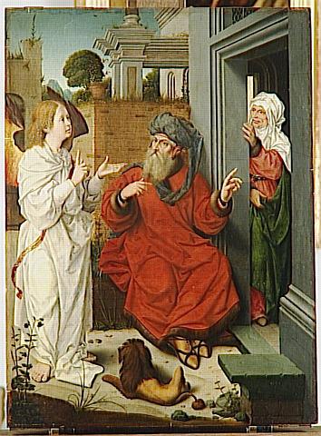 ABRAHAM, SARA ET L'ANGE_0