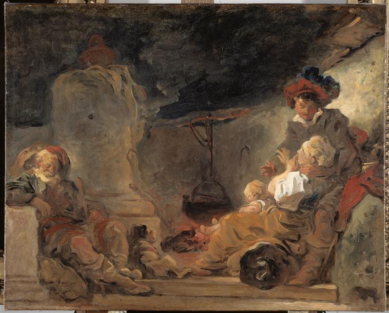 Scène nocturne ; Le songe du mendiant (autre titre)_0