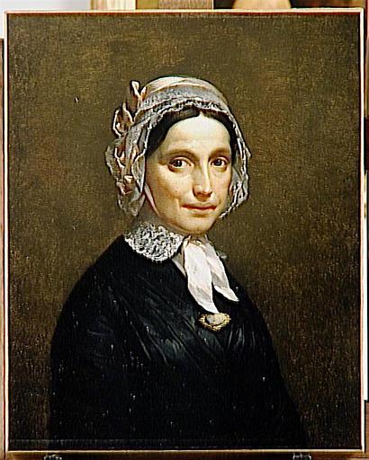 Portrait de Madame Seraille (tante de l'auteur)_0