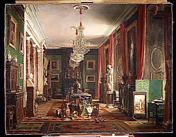 LE CABINET DU COMTE DE NIEUWERKERKE, DIRECTEUR GENERAL DES MUSEES IMPERIAUX, AU LOUVRE_0