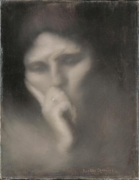 Madame Eugène Carrière en méditation_0