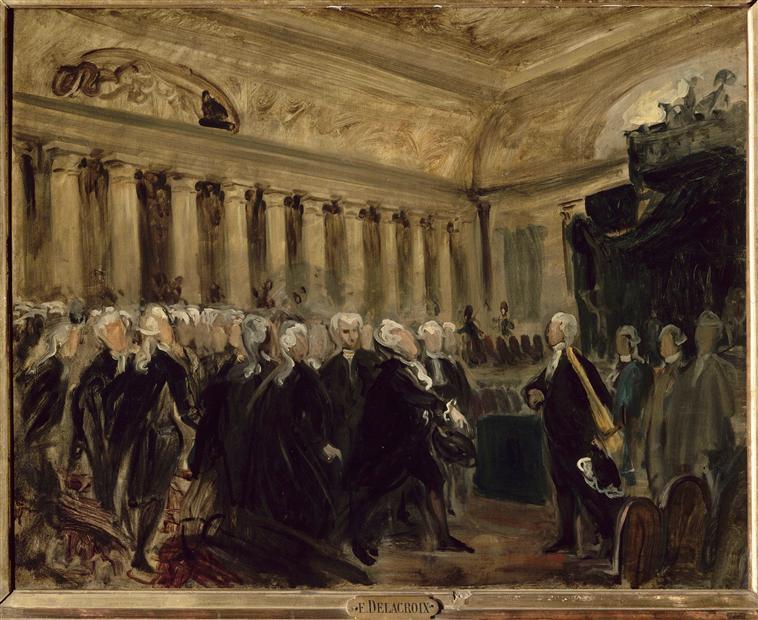 MIRABEAU DEVANT DREUX BREZE (23 JUIN 1789)