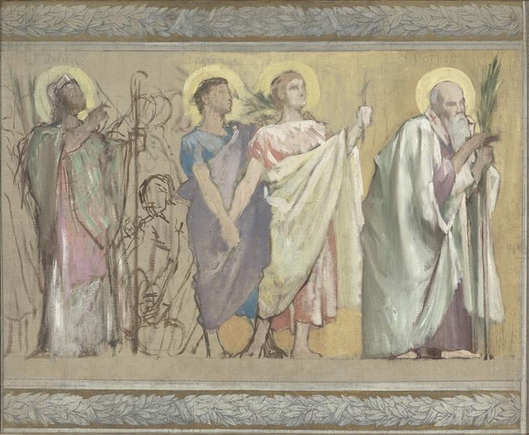 Procession de saints martyrs_0