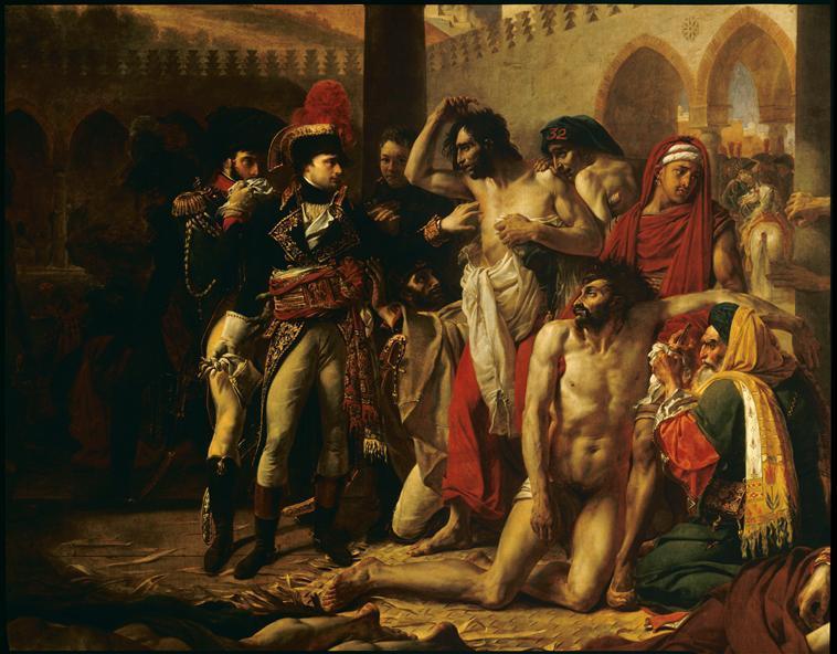 BONAPARTE VISITANT LES PESTIFERES DE JAFFA (11 MARS 1799)_0
