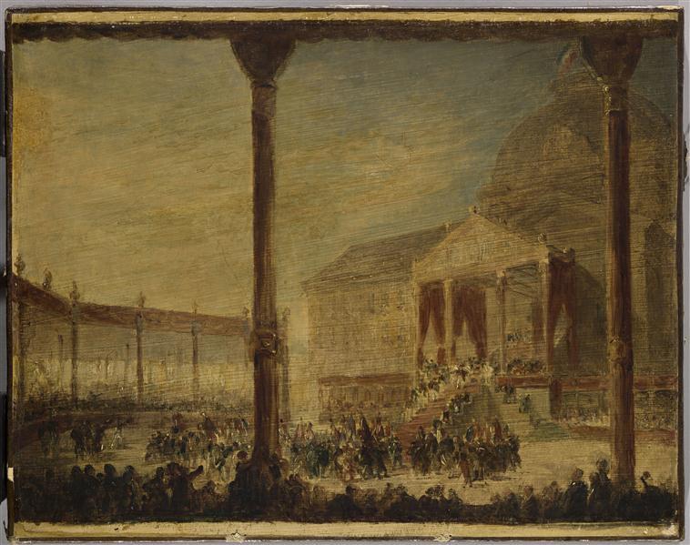 ASSEMBLEE DU CHAMP DE MAI, CONVOQUEE PAR NAPOLEON 1ER AU CHAMP DE MARS, A PARIS, LE 1ER JUIN 1815_0