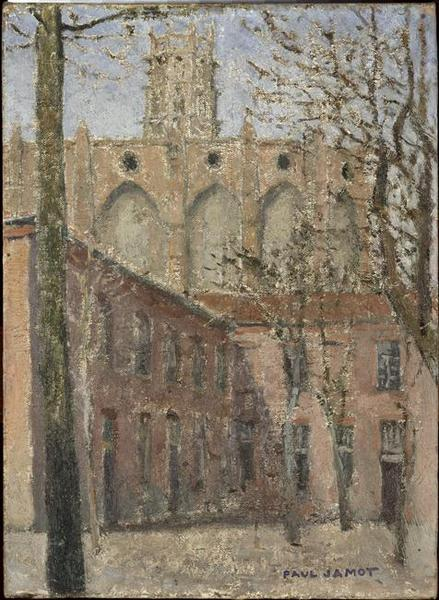 L'église des Jacobins de Toulouse au printemps_0