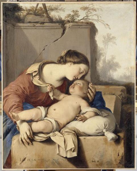 LA VIERGE A L'ENFANT_0