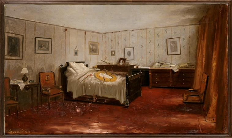 Chambre mortuaire de Gambetta_0