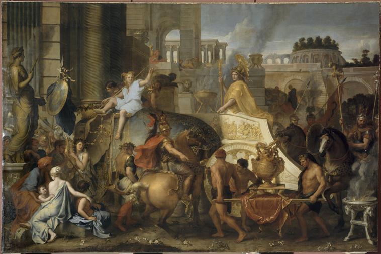 Entrée d'Alexandre dans Babylone_0