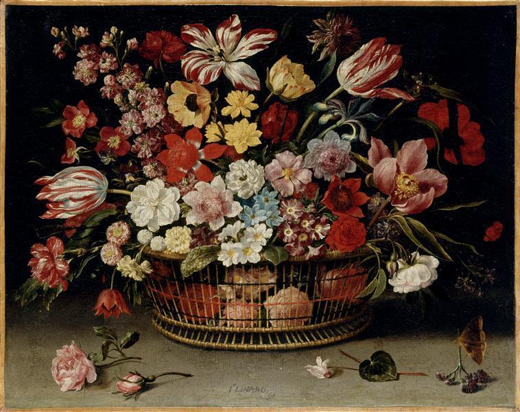 Corbeille de fleurs_0