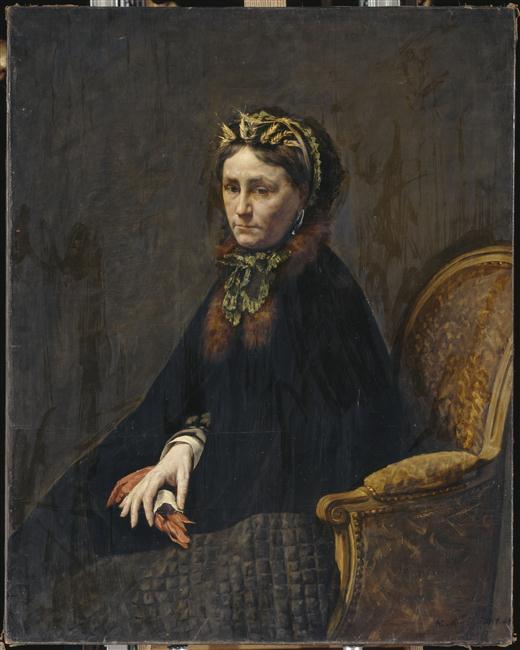La mère de l'artiste (Olimpiade Coralis Granthomme)_0