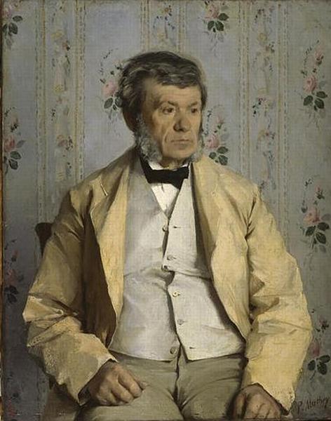 Pierre Mathey, père de l'artiste (1804-1887)_0