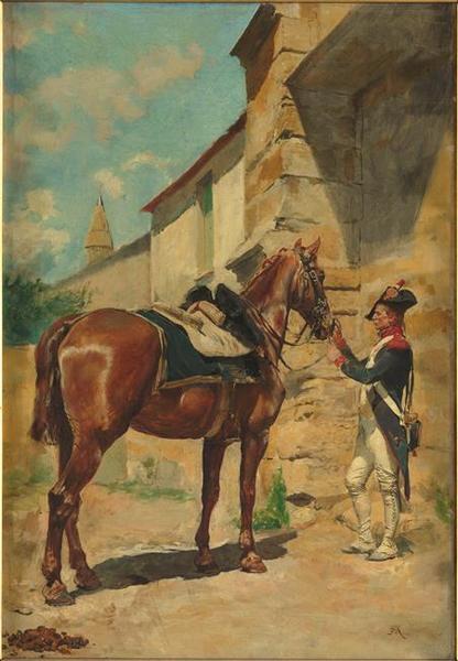 Le cheval de l'ordonnance_0