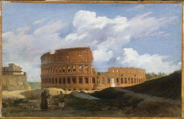VUE DU COLISEE A ROME_0