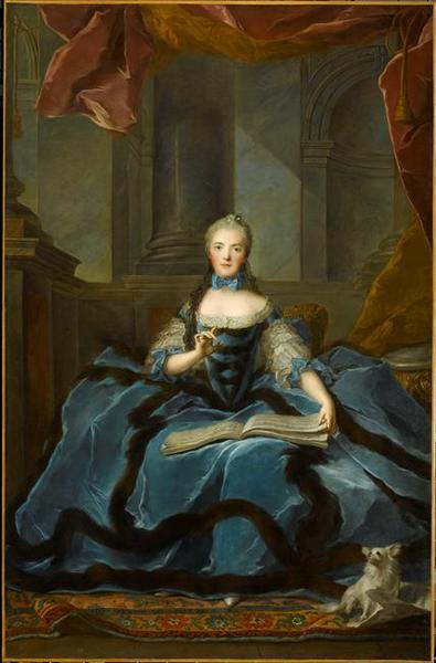 MADAME ADELAIDE TENANT UN LIVRE DE MUSIQUE (1732-1800)_0