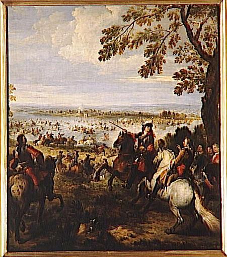 PASSAGE DU RHIN PAR L'ARMEE DE LOUIS XIV (12 JUIN 1672)_0