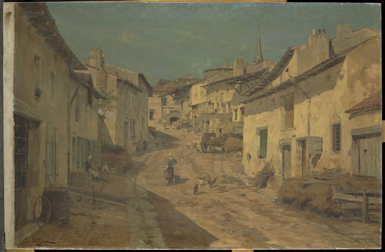 Une rue à Liverdun (Lorraine)_0