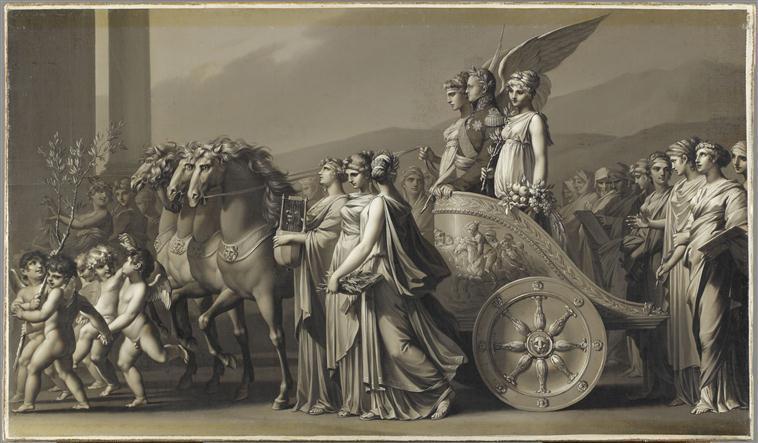 Le triomphe du tsar Alexandre Ier ou La Paix_0