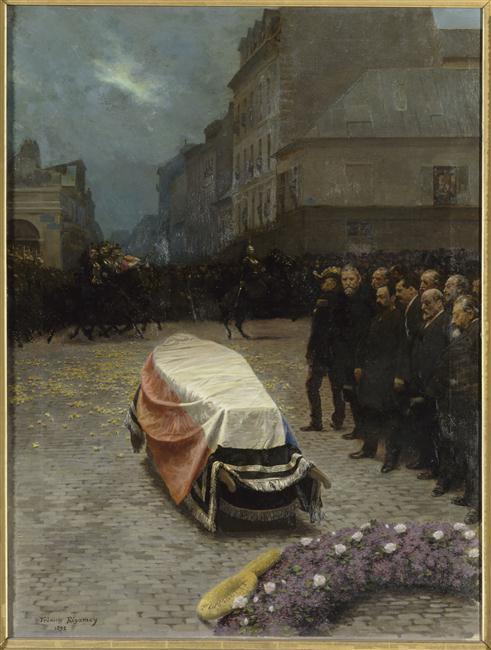 Les funérailles de Gambetta_0