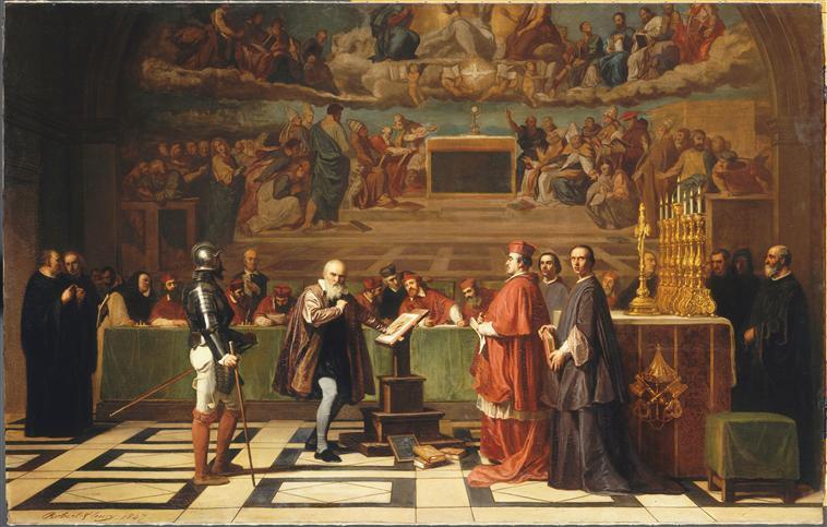 Galilée devant le Saint Office au Vatican_0