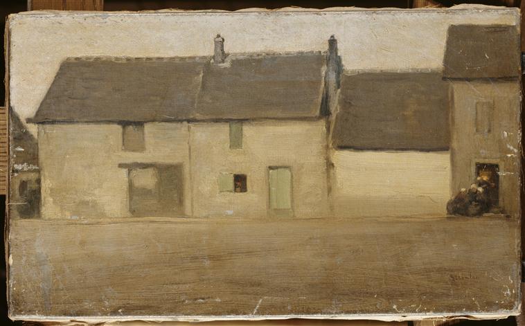 Maisons dans un village_0