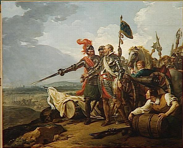 HENRI IV FAISANT ENTRER DES VIVRES DANS PARIS_0