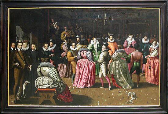 Bal à la cour de Henri III ; dit autrefois Bal du duc d'Alençon_0