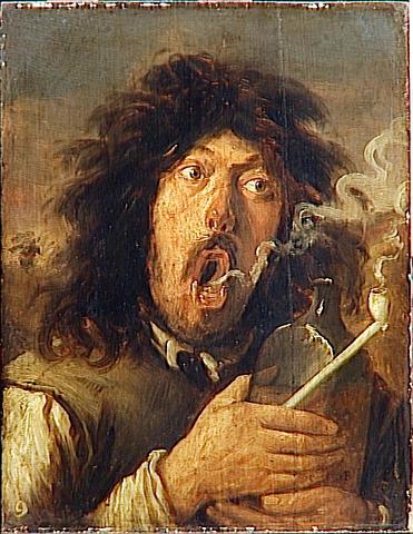 LE FUMEUR (PORTRAIT DE L'ARTISTE ?)_0