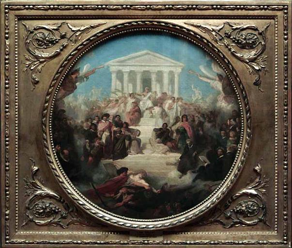 Le triomphe des arts et la victoire du bien et du vrai ou les fruits du bon gouvernement_0